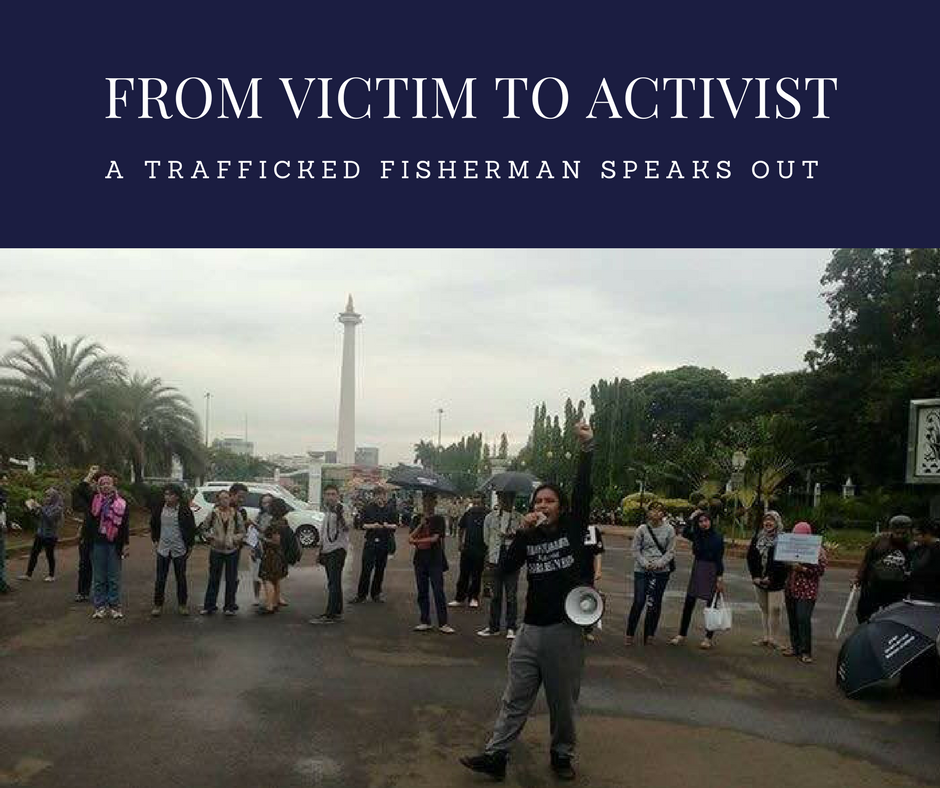 From Trafficking Victim to Activist