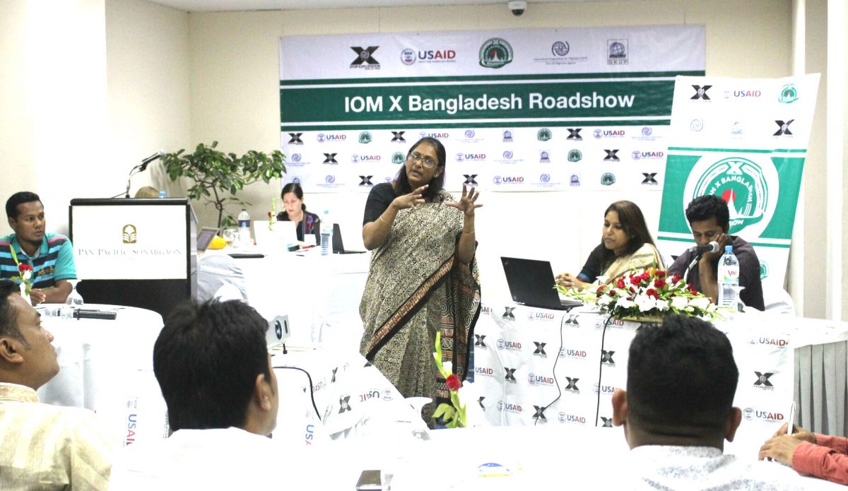 Journalist training in Bangladesh